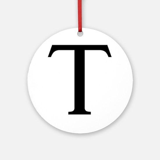 tau Round Ornament