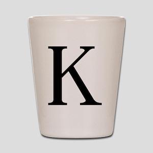 kappa Shot Glass