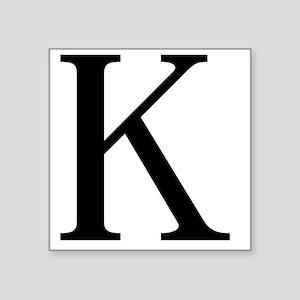 """kappa Square Sticker 3"""" x 3"""""""
