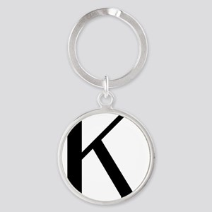 kappa Round Keychain