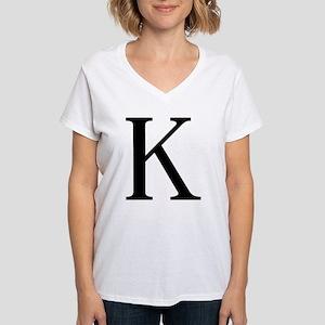 kappa Women's V-Neck T-Shirt