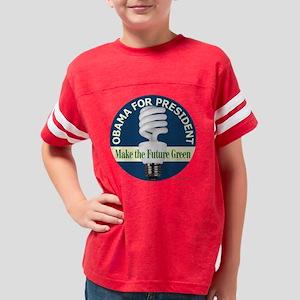 o-tshirt bulb-0032 Youth Football Shirt