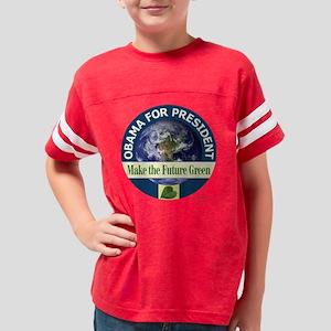 o-tshirt earth-0037 Youth Football Shirt