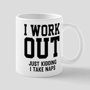 I Work Out Mug