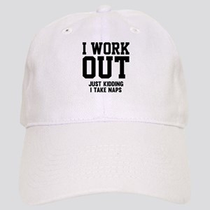 I Work Out Cap