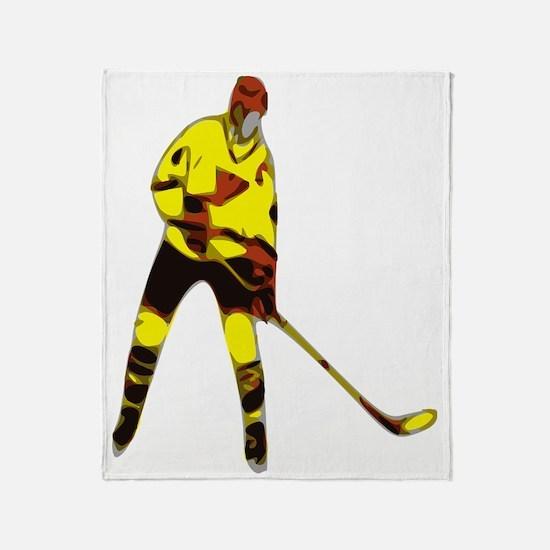 Icehockey Throw Blanket