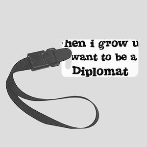 Diplomat Small Luggage Tag