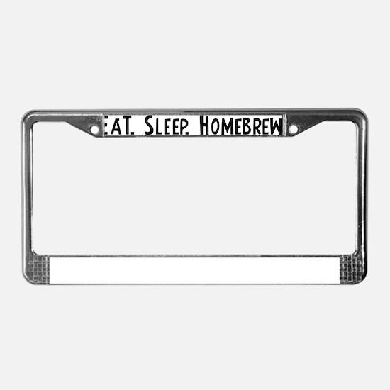 Homebrew. License Plate Frame