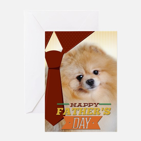 Pomeranian Father's Day Card