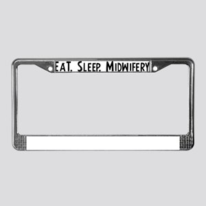 Midwifery. License Plate Frame