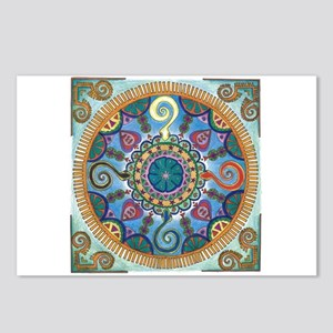 Mexican Serpent Mandala Postcards (Package of 8)