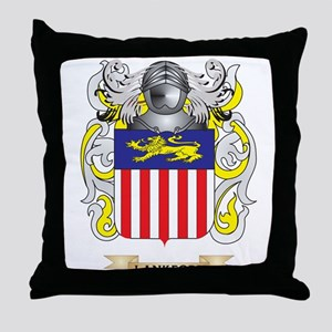 Lankford Coat of Arms - Family Crest Throw Pillow