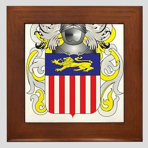 Lankford Coat of Arms - Family Crest Framed Tile