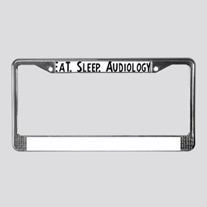 Audiology. License Plate Frame