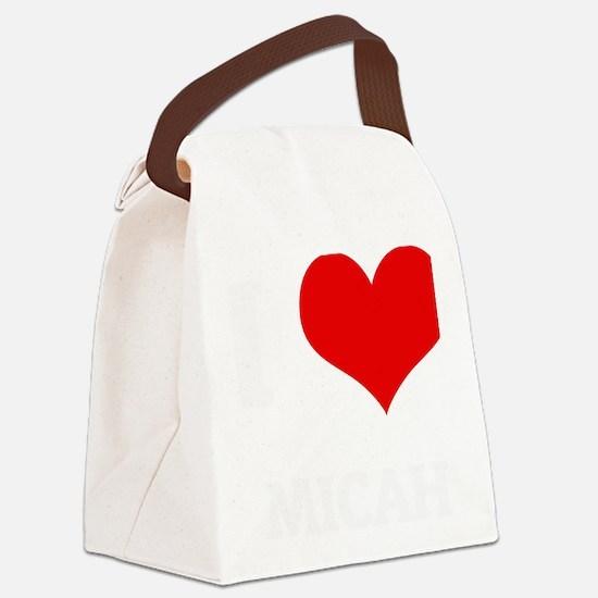 MICAH Canvas Lunch Bag