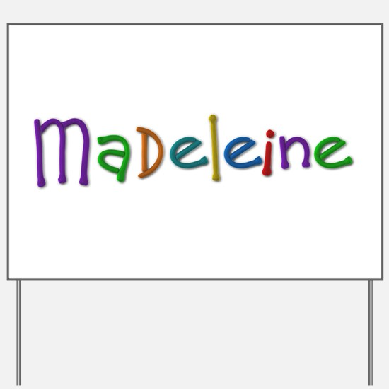 Madeleine Play Clay Yard Sign
