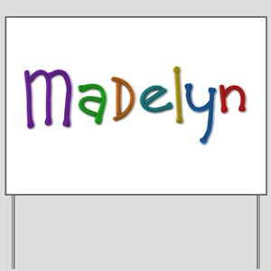 Madelyn Play Clay Yard Sign