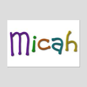 Micah Play Clay Mini Poster Print