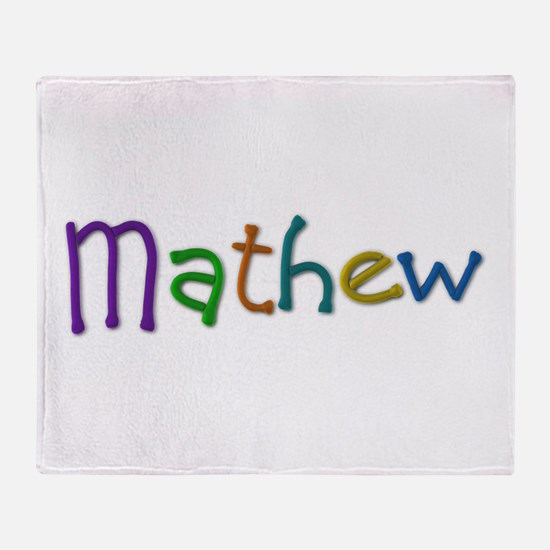 Mathew Play Clay Throw Blanket