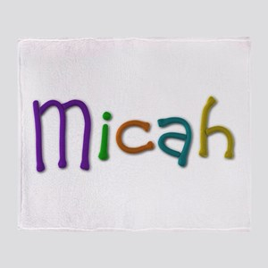 Micah Play Clay Throw Blanket