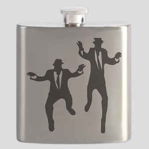 Dancing Brothers Flask