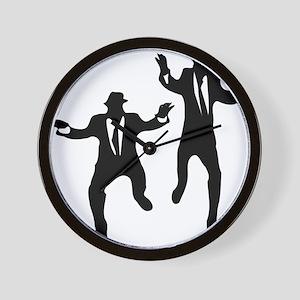 Dancing Brothers Wall Clock