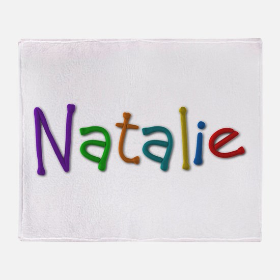 Natalie Play Clay Throw Blanket