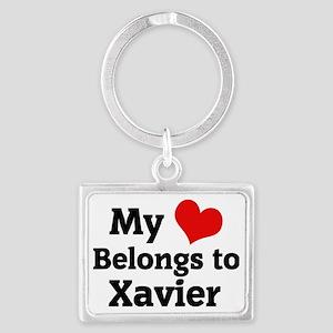 Xavier Landscape Keychain