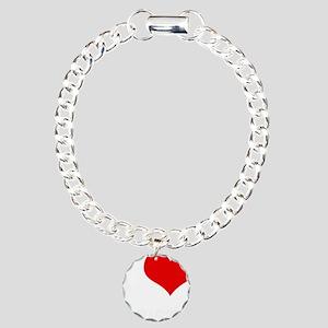 KRISTA Charm Bracelet, One Charm