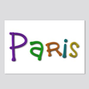 Paris Play Clay Postcards 8 Pack