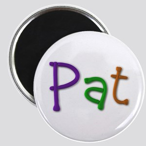 Pat Play Clay Round Magnet