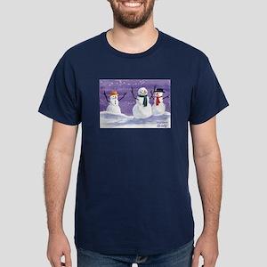 Snowmen Dark T-Shirt