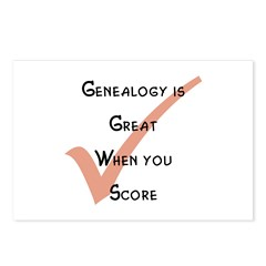 Genealogy is Great Postcards (Package of 8)