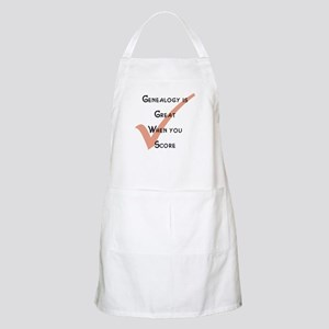 Genealogy is Great BBQ Apron