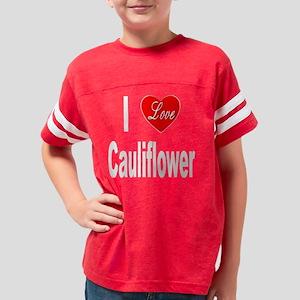 ILoveCauliflower10x10Trans Youth Football Shirt