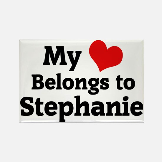 Stephanie Rectangle Magnet