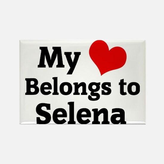 Selena Rectangle Magnet