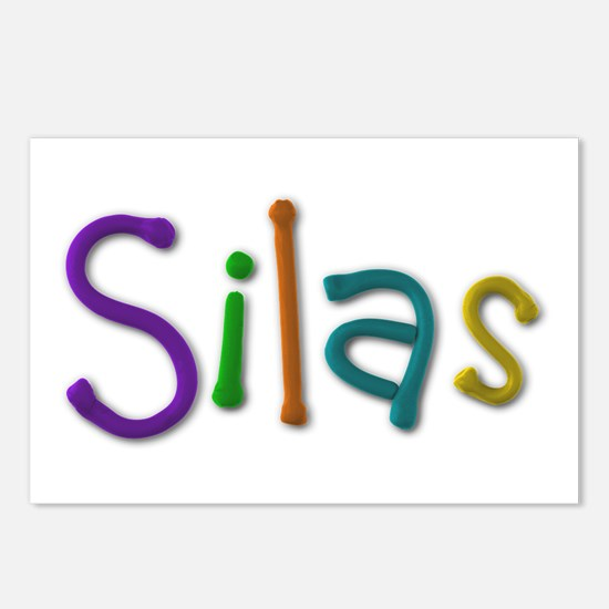 Silas Play Clay Postcards 8 Pack