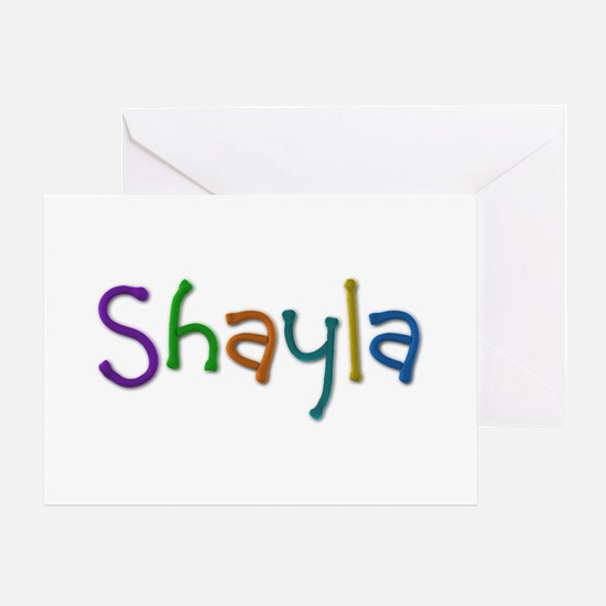 Shayla Play Clay Greeting Card