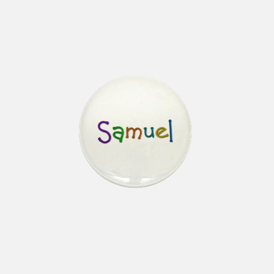 Samuel Play Clay Mini Button