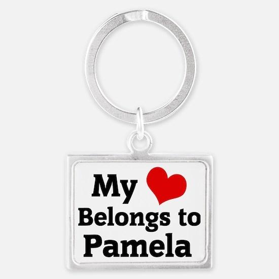Pamela Landscape Keychain