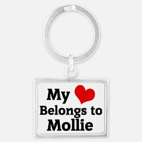Mollie Landscape Keychain