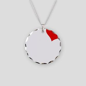 Meagan-black Necklace Circle Charm