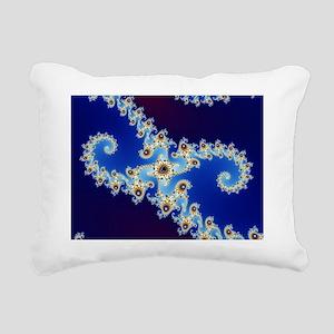 Benoit Mandelbrot Rectangular Canvas Pillow