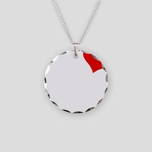 Madalyn-black Necklace Circle Charm