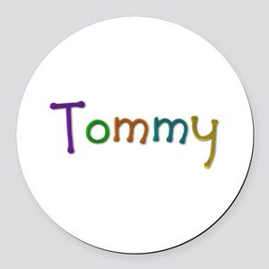 Tommy Play Clay Round Car Magnet
