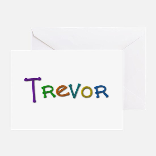 Trevor Play Clay Greeting Card