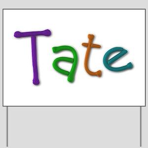 Tate Play Clay Yard Sign