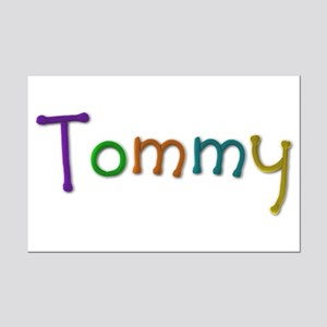 Tommy Play Clay Mini Poster Print