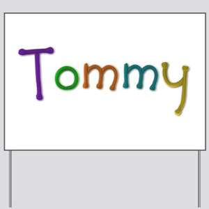 Tommy Play Clay Yard Sign